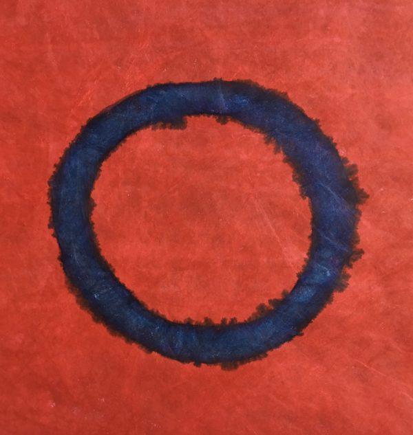 z.t., kalligrafie inkt op tyvek, 30 cm x 30 cm, 2017