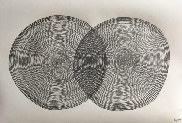 z.t., potlood op papier, 48 cm x 33 cm (h), 2019
